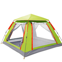 Wnnideo 3 Person Tent / Easy Setup Lightweight Camping and Backpacking 3 Season Tent / Compact