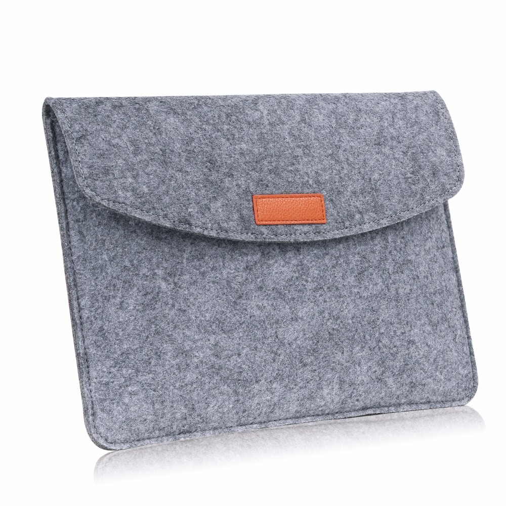 MoKo 9-10 Inch Tablet Sleeve Bag, Felt Case fit for iPad 9.7 2018/2017, iPad Pro 11 2018, iPad Pro 10.5/9.7,iPad Air 2 image