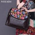 Brands NUZADA Women Ladies Hand bags Handbag Tote Satchel Shoulder Messenger Crossbody Bags High-grade Genuine Leather bgw-001