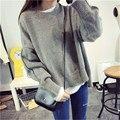 Де Dove2016 новый зимний Корейской версии Фэй Вонг же пункт длинный участок битой шею пуловеры женщин ретро
