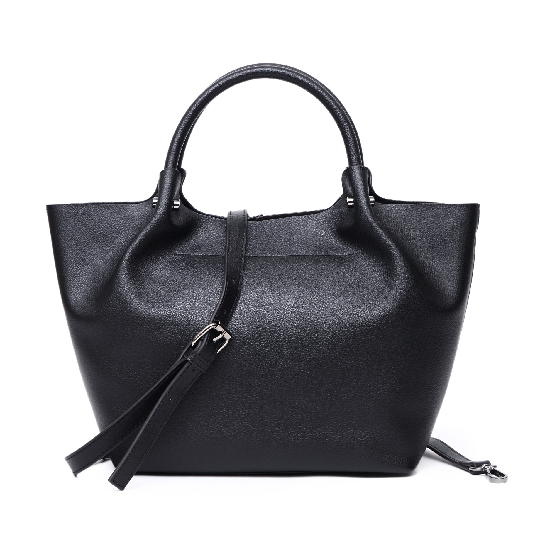 2017 Autumn Winter Women Tote Bags Large Capacity 100% Genuine Cow Soft Leather Lades Handbag Classical Hobo Shopper Bag new women hobo bags soft pu leather women s handbag large ladies shoulder bag for middle aged female shopper travel bags
