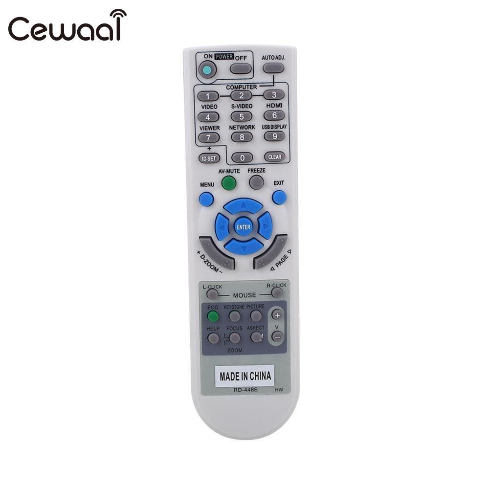 Cewaal 433MHZ Beige Projector Remote Control For NEC RD-448E RD-443E RD-452E RD-450D RD-458E Series RC Controllers