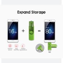 Usb Wansenda OTG USB flash drive for SmartPhone/Tablet/PC 8GB 16GB 32GB 64GB 128GB Pendrive
