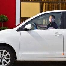 Aliauto Auto styling Fast & Furious Paul Walker Vin Diesel Car Window Sticker Vetro Accessori Main Drive Prospettiva Per vw
