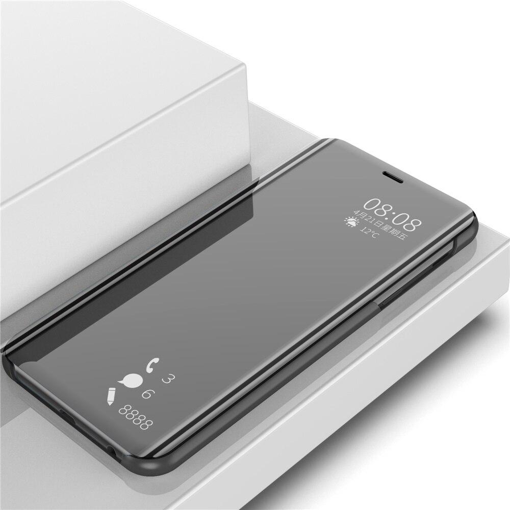 Espelho Visão Clara Do Caso Da Aleta Para Xiaomi Redmi S2 Luxo S2 Smart View Caso Capa de Couro PU Para Xiaomi Redmi para Xiaomi RedmiS2