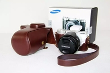 PU Leather Camera Bag Case For Samsung NX300 DSLR Digital Camera Shoulder Bags