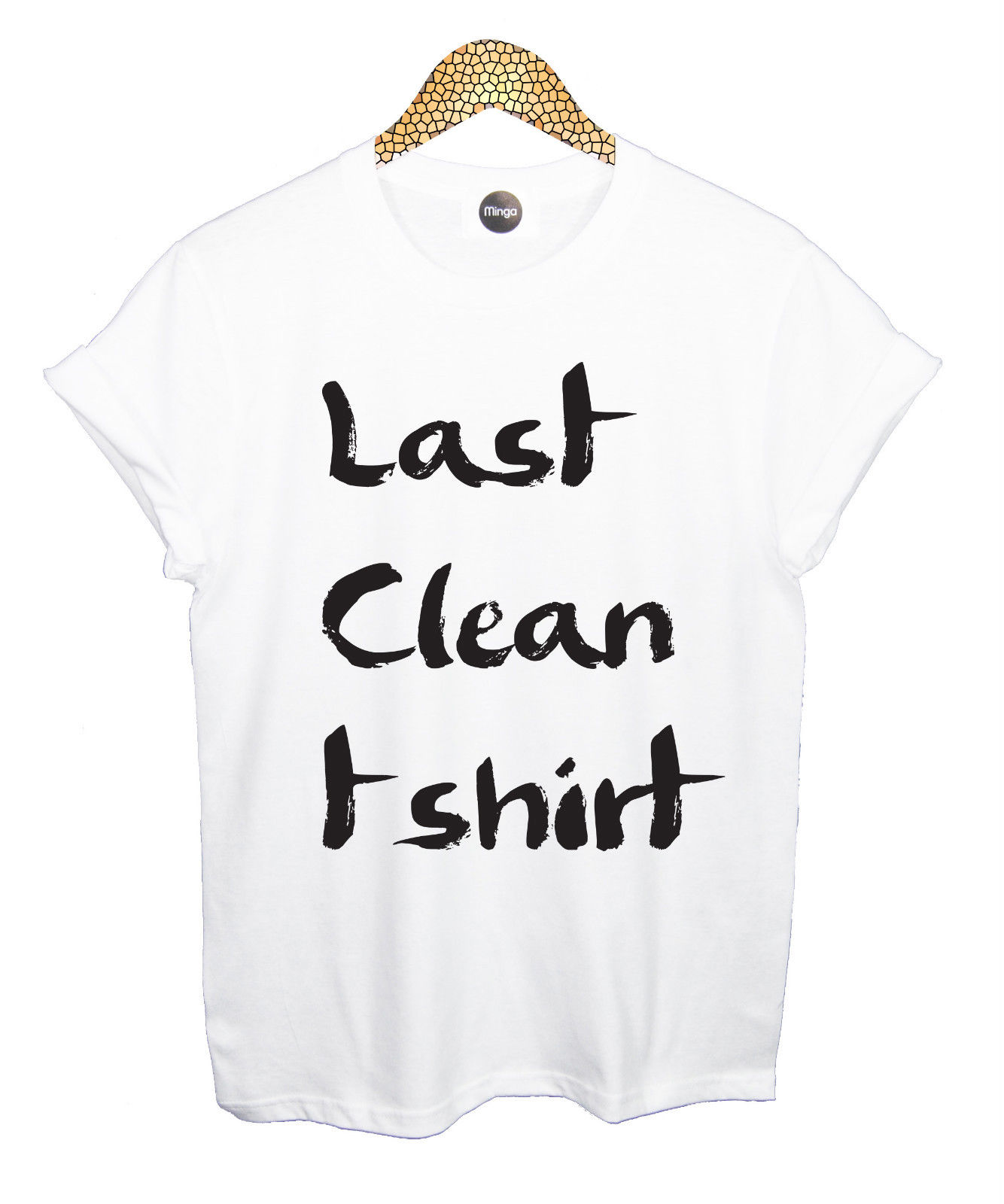 LAST CLEAN T SHIRT TOP TEE TANK VEST CARA TUMBLR BLOG HIPSTER FASHION RETRO VTG Women Slim Fit Sexy Cotton T-Shirts image