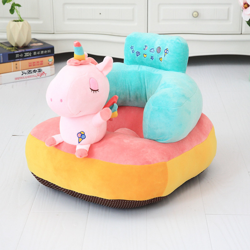 Cute Plush Baby Chair Seat Pillow Infant Soft Back Support Cushion Sit Infant Protector Feeding Seat Plush Toy Newborn Gift-in Stuffed & Plush Animals from Toys & Hobbies    2