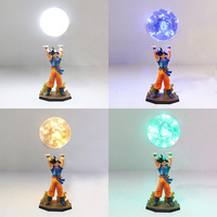 Dragon Ball Z Figure Super Saiyan Son Goku Genki gogeta damaSpirit Bomb PVC Figure Dragonball Z DIY Display Bulb Model Toy