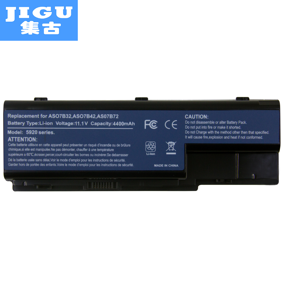 JIGU 5200MAH Laptop <font><b>Battery</b></font> For Acer <font><b>EasyNote</b></font> LJ61 LJ63 LJ65 LJ67 LJ71 LJ73 LJ75 eMachines E510 E520 G420 G520 G620 G720