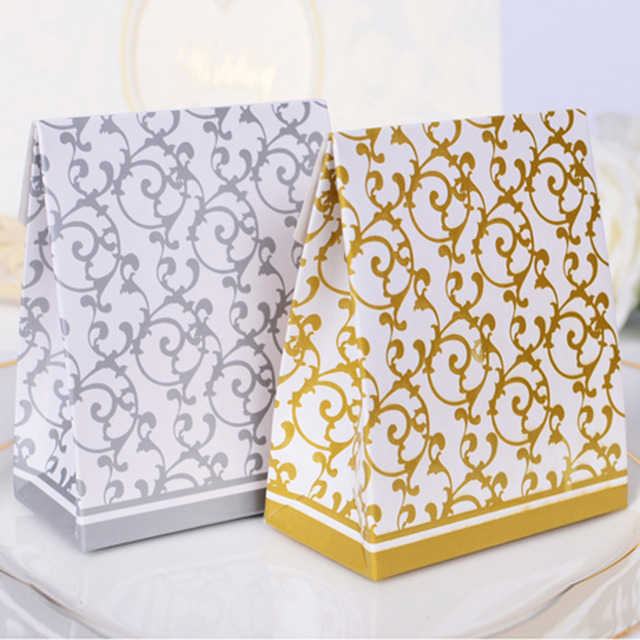 50 Pcs Ribbon Candy Boxes
