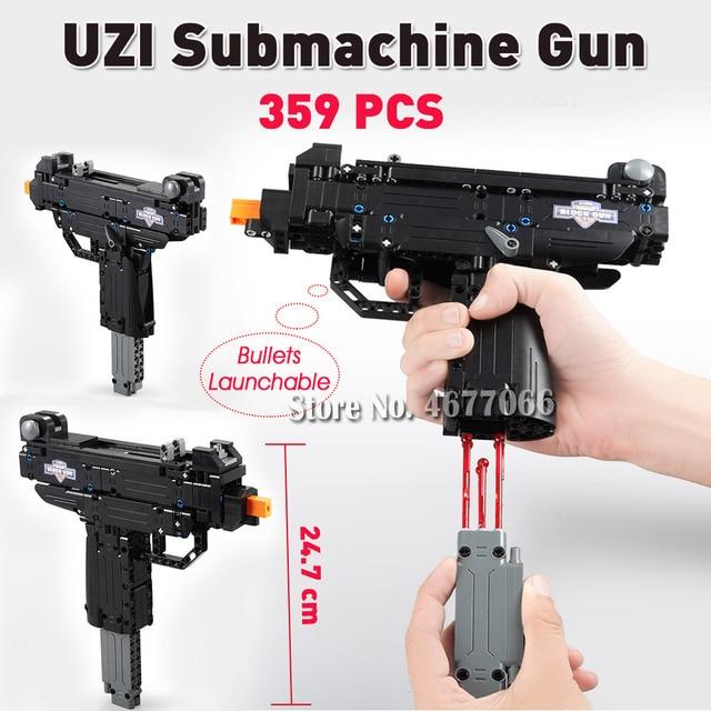 UZI Gun - 359 PCS