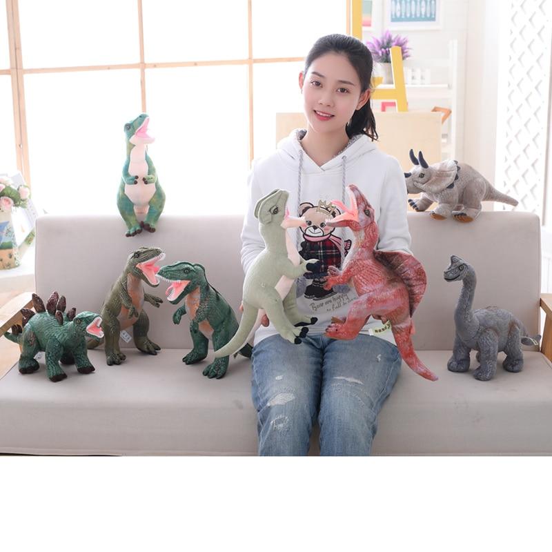 Juguetes de peluche de dinosaurio Simulación Rex Tyrannosaurus - Peluches y felpa