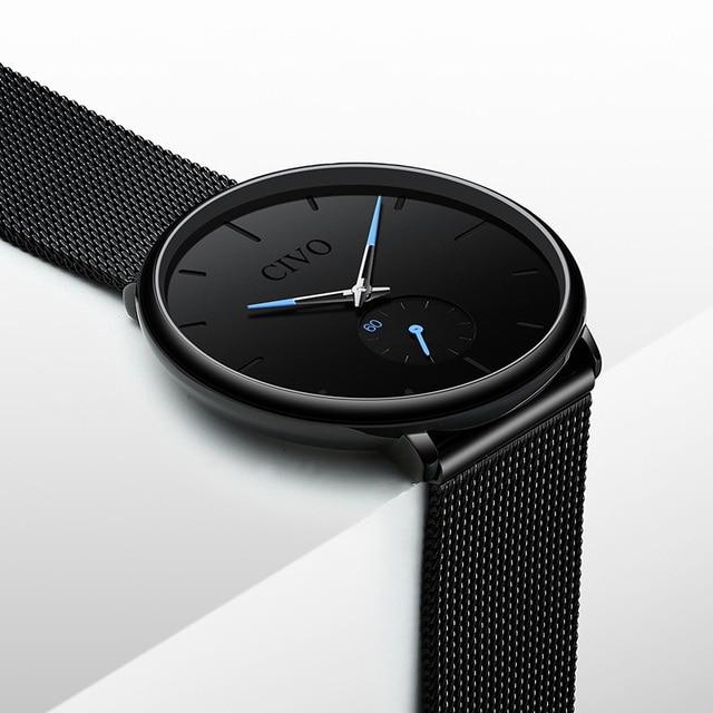 CIVO Fashion Waterproof Slim Quartz Wrist Watches 2