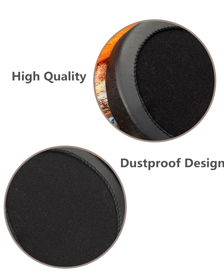 General 110mm Soft Sheepskin Foam Ear Pads Cushions for Headphones Earpads High Quality 12.5 (7)