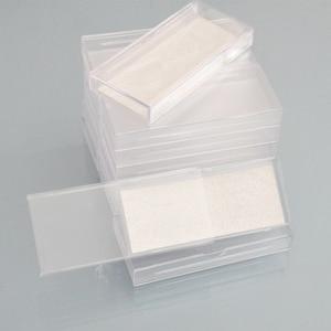 Image 4 - 400pcs Wholesale Acrylic False Eyelashes Packaging Box custom logo Fake 3d Mink lashes Box Faux Cils transparent plastic case