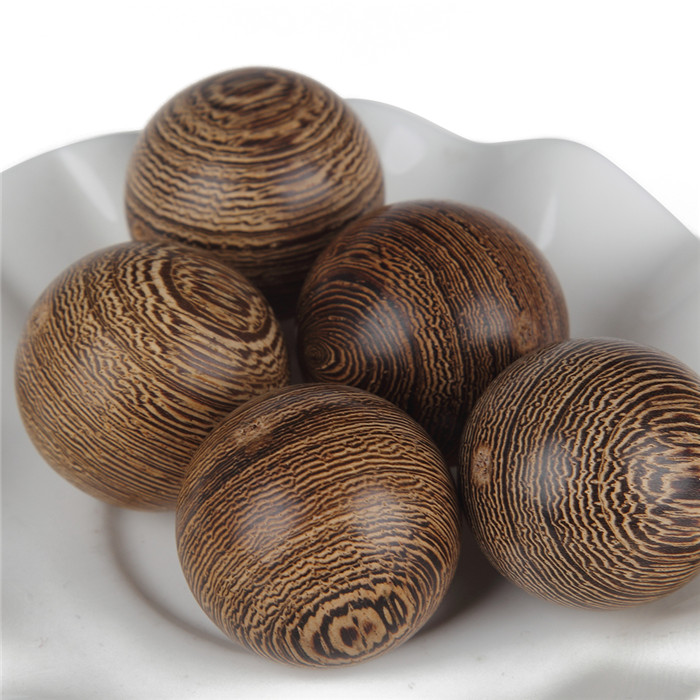 8-25mm Natural Round Wood Unfinished Stripe Pine Wooden Beads Smooth Surface DIY