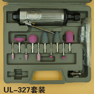 цена на UL-327 tool sets Pneumatic grinder polishing mill pen tire grinding machine chuck 3-6mm grinding machine tire repair