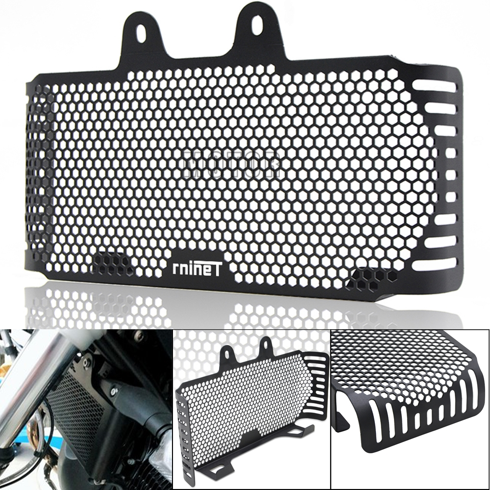 Motorcycle Motor Bike Radiator Grill Cover Protector For BMW R Nine T 2013-2019 2014 2015 2016 2017 2018 RnineT Oil Cooler Guard