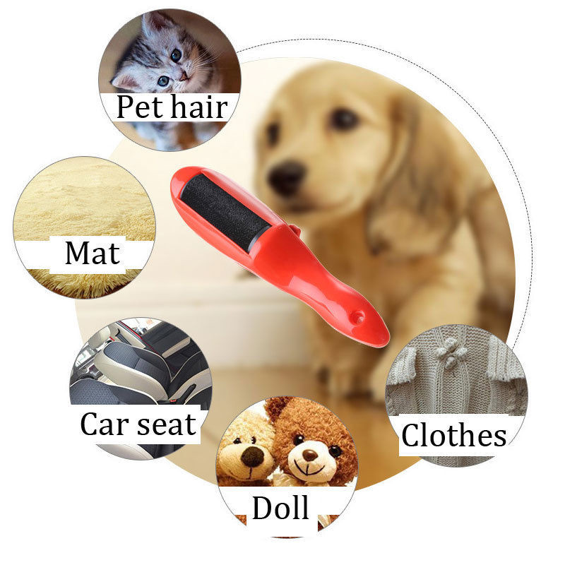 PET Fur Brushes Lint Brush Household Cleaning Tools for Removing Dust & Hair Travel Sized