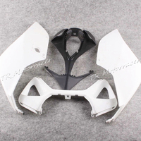 Unpainted Rear Tail Fairing For Ducati 1199 2012 White Motorcycle Accessories New ABS Plastic