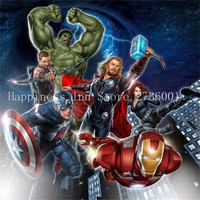 2017 5d Diy Diamond Painting The Avengers Full Diamond Embroidery Painting Diamond Painting For Children S