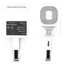 Universal Type C /Micro USB / 8Pin Wireless Charger Charging Receiver Interface Paster for iPhone for Xiaomi Android Reverse