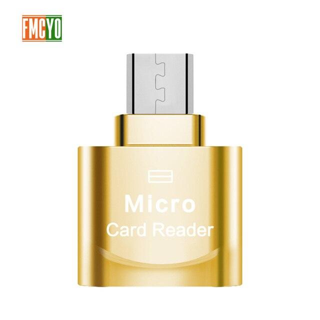 Mini Micro USB Android Phone TF Memory Card Reader OTG External SD Memory Expansion Expander