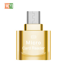 Mini Micro USB Android โทรศัพท์ TF OTG ภายนอก SD ขยาย Expander