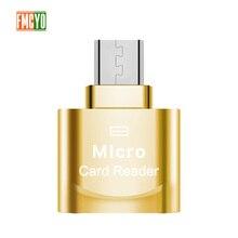 מיני מיקרו USB אנדרואיד טלפון TF זיכרון כרטיס קורא OTG חיצוני SD זיכרון הרחבת Expander