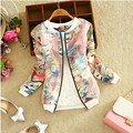 Women's Coats 2016 Fashion Windbreaker Casual Baseball Clothes Jacket Loose Thin Coats Tops Cardigan Jaquetas M-XL Plus Size
