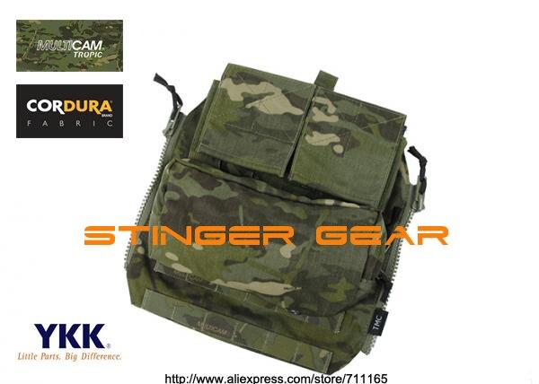 TMC MOLLE Zip Panel Pouch Multicam Tropic AVS CPC JPC Gen2 Back Panel Pouch+Free shipping(SKU12050799)