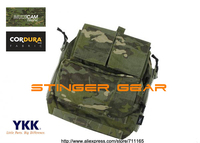 TMC MOLLE Zip Panel Pouch Multicam Tropic AVS CPC JPC Gen2 Back Panel Pouch+Free shipping(SKU12050799)