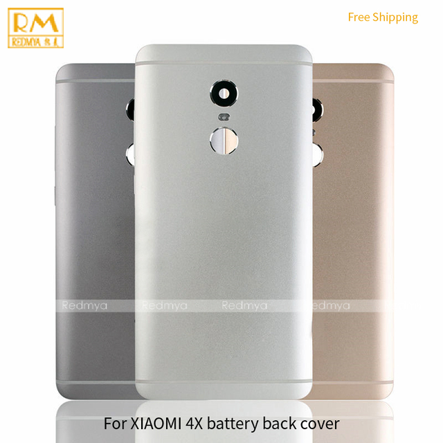 Original For Xiaomi Max, Max 2 Redmi 4X 32GB Battery Cover Back Housing Full Back Cover Door Rear Case Replacement Repair Part