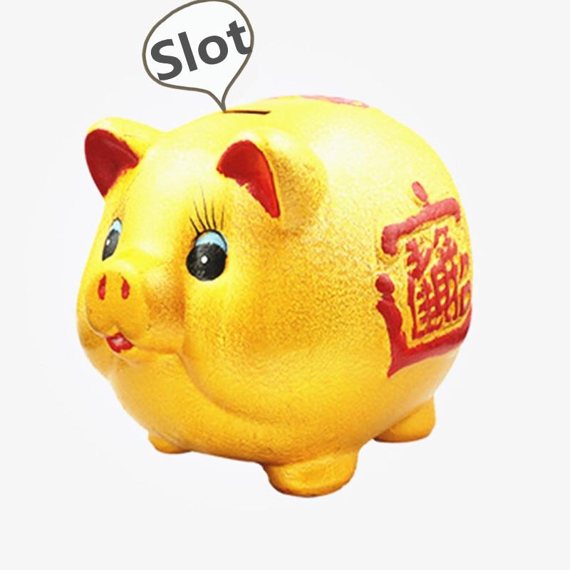 large pig piggy bank