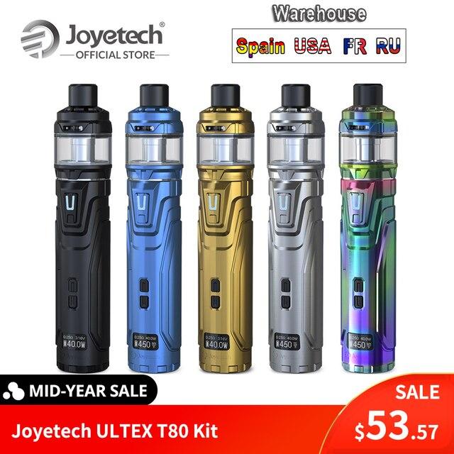Russian Original Joyetech ULTEX T80 with CUBIS Max Kit NCFilmTM Heater Intuitive OLED screen Coil-less Vape VS stick V8 ECig