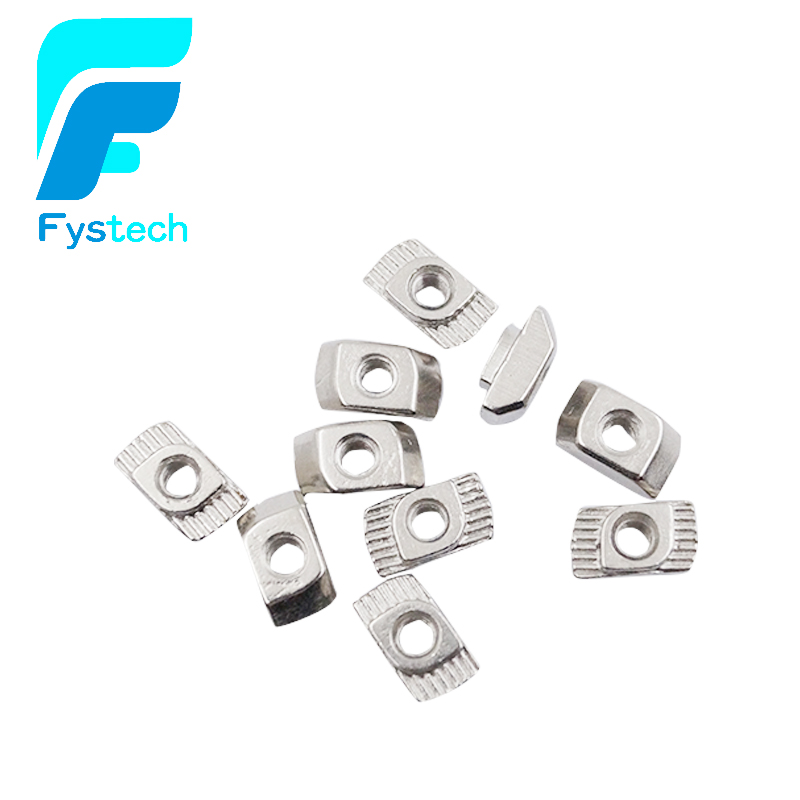 10PCS M3 M4 M5 Hammer Nut Aluminum Connector T Fastener Sliding Nut Nickel Plated Carbon Steel for 2020 Aluminum Profile 10pcs m3 round aluminum alloy long nut studs standoffs fastener 8 10 15 20 25 30 35mm page 5