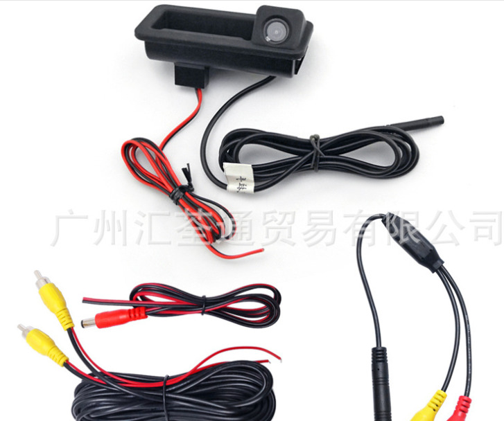 cheapest AUTONET Rear View camera For Volkswagen VW Touran Golf Touran 2003 2010 CCD Night Vision Backup Camera license plate camera
