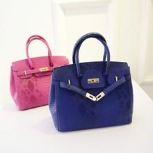 Fashion Snake Skin Like Handbag