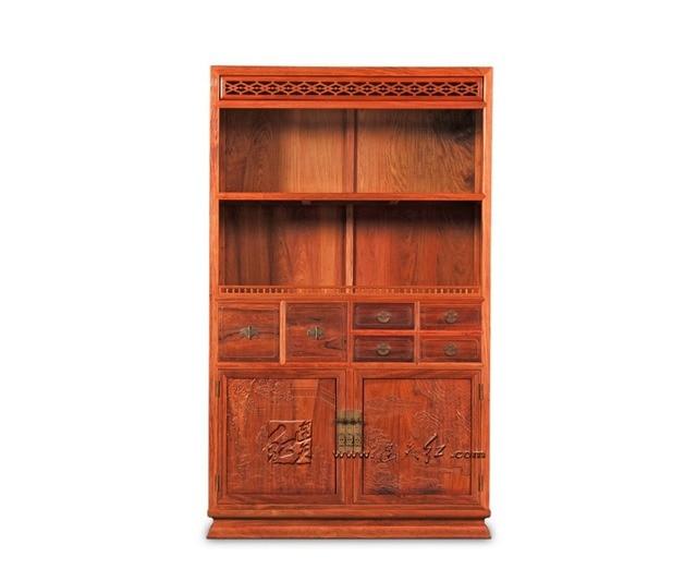 Multi function Office Study Room Bookcase Storage Wooden Bookshelf 4 ...
