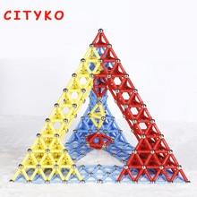 103 pcs Blocos Magnéticos Mini Designer Set Modo de Construção Vara Magnética Brinquedos Da Primeira Infância das Crianças Puzzle DIY Magia