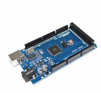 5pcs Mega 2560 R3 Mega2560 REV3 ATmega2560 16AU CH340G Board NO USB Cable Compatible For Arduino