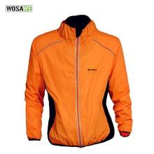 WOSAWE Waterproof Cycling Coat Mens Windproof Road Bike Cycle Clothing Long Sleeve & Sleeveless Jersey Wind Rain Jackets