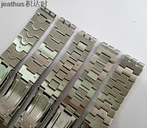 Image 5 - Jeathus watchbands replacement for swatch steel belt ycs410gx 438 511 19mm stainless steel strap irony man bracelet watch band