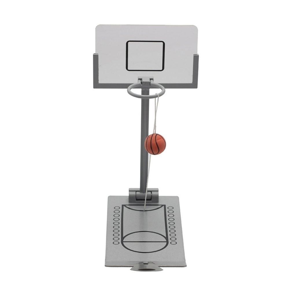 Folding Mini Basketball Shooting Rack Office Desktop Toys Creative Decompression Toys Desktop Decoration