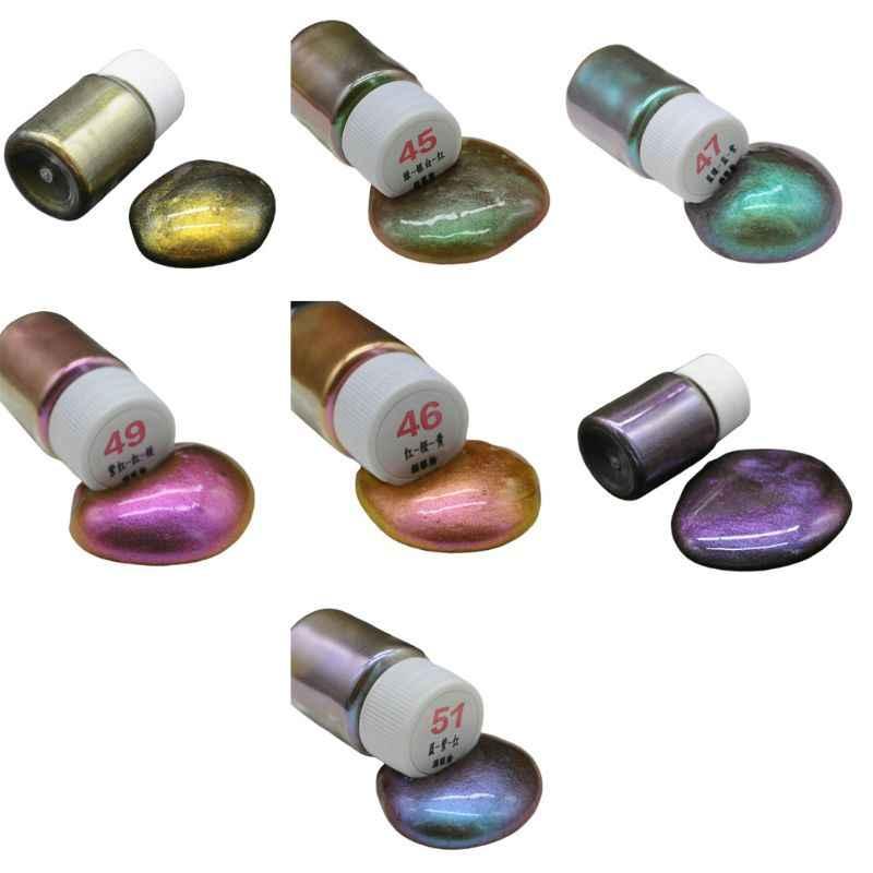 Resina Epossidica FAI DA TE di Riempimento Dye Pigmento Della Perla Occhio di Gatto Perlescente Polvere Minerale Mestieri Handmade Fare Chiodi di Bellezza Accessori
