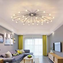 Chrome Led Lamp Moder Design Chandeliers For Living Room Bedroom Kitchen Foyer Light Fixtures Lustre Decor Home Lighting G4 Bulb