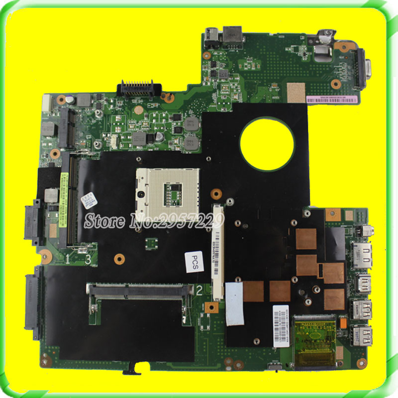 For Asus Motherboard G51J G60J G51JX G60JX REV2.0 Mainboard PAG 989 HM55 DDR3 Fully Tested asus g60j купить в москве