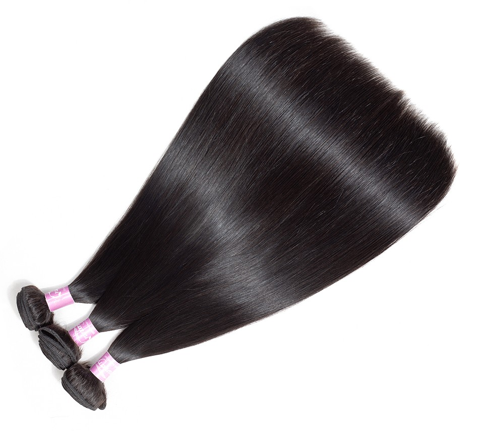 virgin straight hair bundles