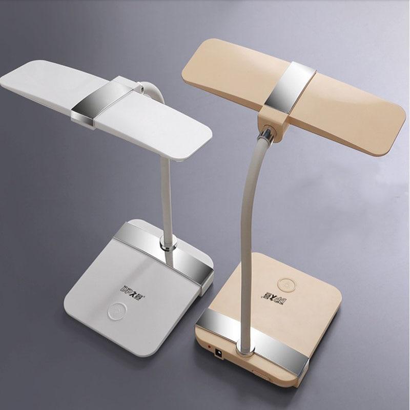 LED-boeklamp Moderne lamp 220V Oogbescherming LED Bureau Tafellamp USB Vermogen Lezen Studie Bureaulamp Kinderen Slaapkamer Verlichting